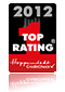Top Rating Hoppenstedt CreditCheck Zertifikat 2012