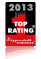 Top Rating Hoppenstedt CreditCheck Zertifikat 2013